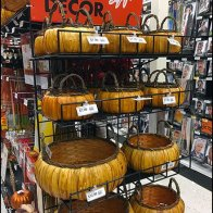 Gridwall Wire Shelf Fall Decor Basket Display 2