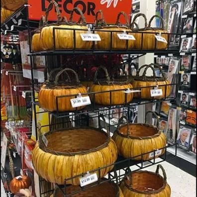 Gridwall Wire Shelf Fall Decor Basket Display 2