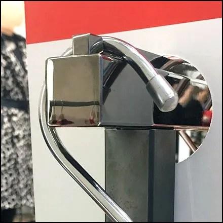Karen Millen Flagship Chrome S-Hook Merchandising Feature 2