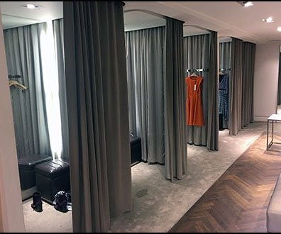 Karen Millen Flagship Mezzanine Fitting Rooms