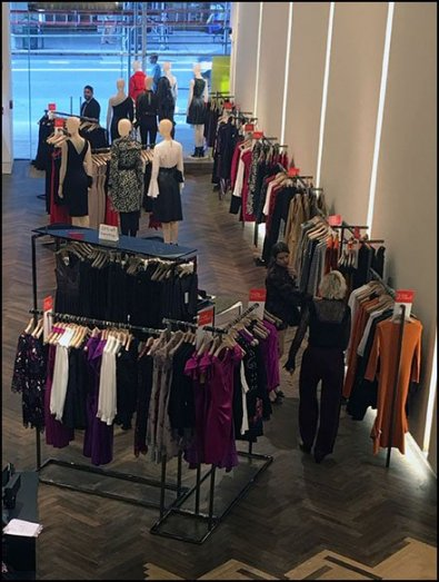 Karen Millen Flagship Store View From The Top