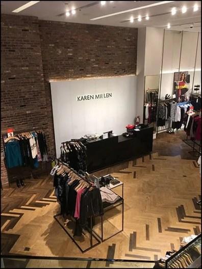 Karen Millen Flagship Store Counter Branding
