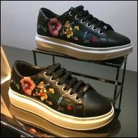 Karen Millen Flagship Sneaker Pedestal Feature