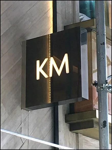 Karen Millen Flagship Store Sign Monogram