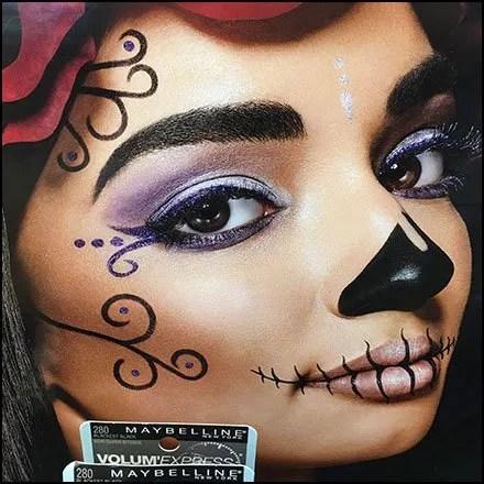 Halloween Unmasked Mayballine Cosmetics