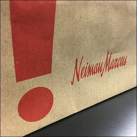 Neiman Marcus A-Go-Go Cafe Takeout Bag