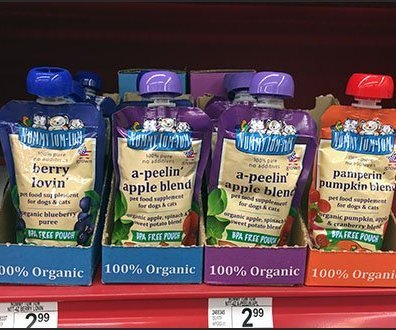 Pet Food Pouch Merchandising at Petco