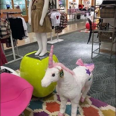 Plush Unicorn Plaything In Children's Apparel