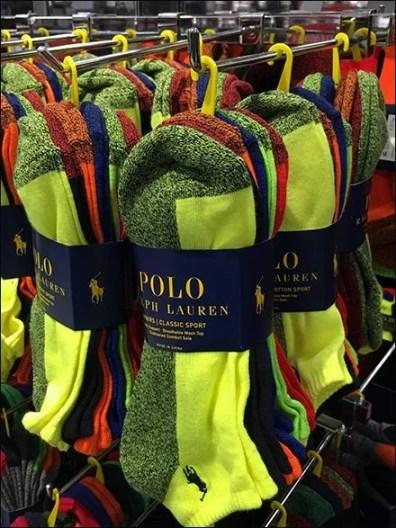 Ralph Lauren Saddle Mount Bar Hooks for Socks