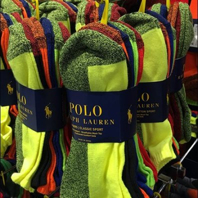 Ralph Lauren Saddle Mount Bar Hooks for Socks