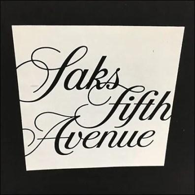 Saks Fifth Avenue Logo Aux