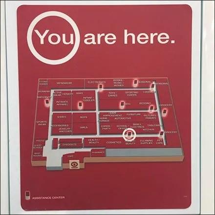 Target Call Center Map Navigation Aux