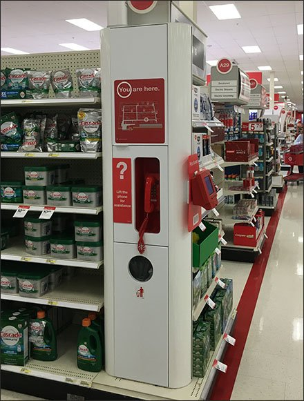 Target Info Center, Price Check, Store Navigation