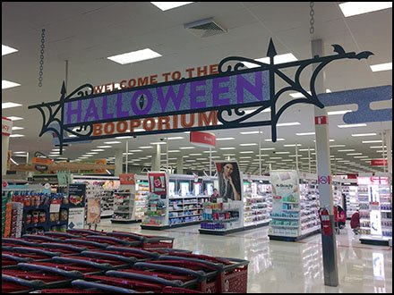 Booporium Halloween Welcome To Target – Fixtures Close Up
