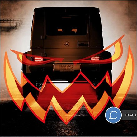 Trick or Treat Yourself to a Mercedes Benz
