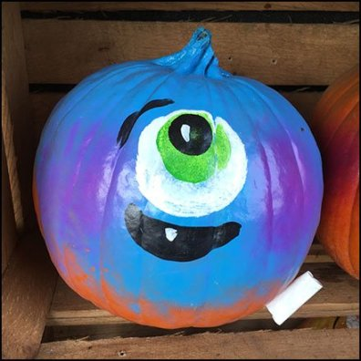 Painted Pumpkins Ready-To-Go at Wegmans