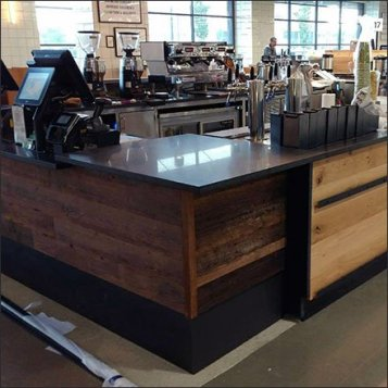 Buffalo Whole Foods Millwork Installed Feature