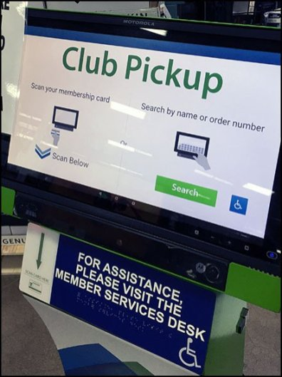 Costco Club Pickup For Online Orders