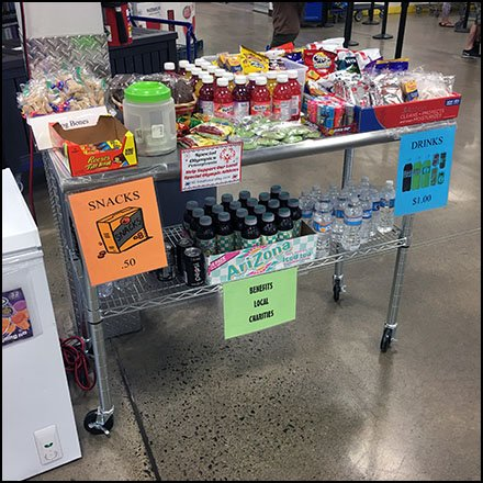 Special Olympics Snack Benefit At Costco