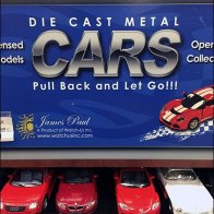 Die Cast Car PowerWing Promotion