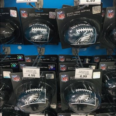 NFL Football Straight-Entry Hook Sales