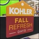 Fall Toilet Refresh Display by Kohler