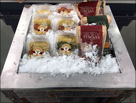 Iced Fresh Pasta Direct from Whole Foods