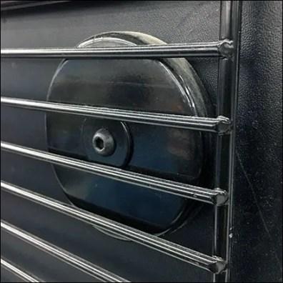 Magnetic Add-On Grid Merchandiser