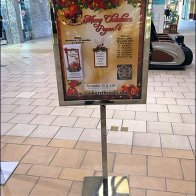 Mall Christmas Pageant Concourse Advertising 3