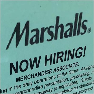 Marshalls Hiring Now Employment Table Feature