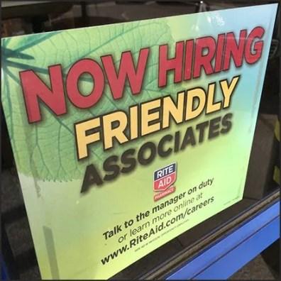 Now Hiring Friendly Associates Feature