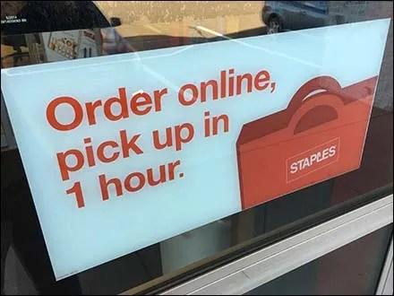 Staples Order Online Pickup In 1 Hour