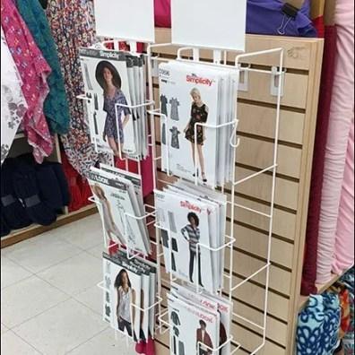 Outrigger Endcap Fabric Pattern Rack
