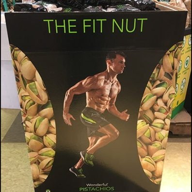 Lifestyle Persona Pistachio Promotional Display