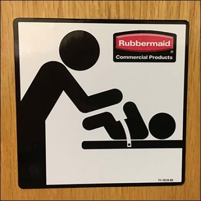 Rubbermaid Branded Restroom Signage Square2