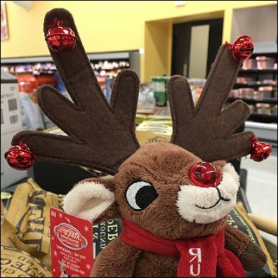 Rudolph The Reindeer Ear Piercing Antlers
