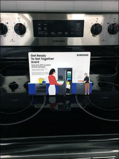 Samsung Stovetop Appliance Promotion 2