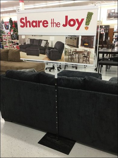 Share The Joy Floorstand Sign At Big Lots