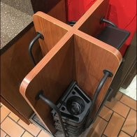 Shopping Cart Cup Holder and Rack