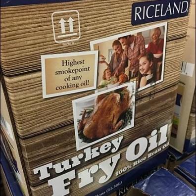 Turkey Fry Oil Thanksgiving Three-fer Special
