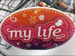 WalMart Lifestyle Branded Shopping Cart