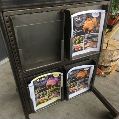 Whole Foods Mobile Literature Holder Square1