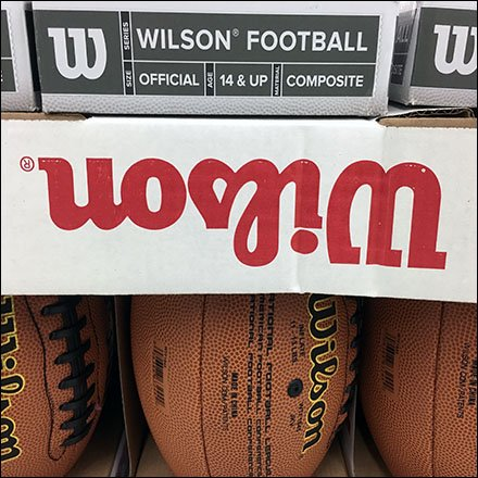 Wilson NFL Football Lineup Logo Square