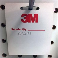 """""""Branded Back Tags for Zip Ties by 3M """""""