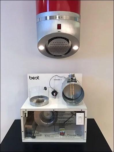 Sub-Zero Showroom Best Range Hood Display