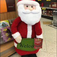 Christmas Plush Welcome To Grocery