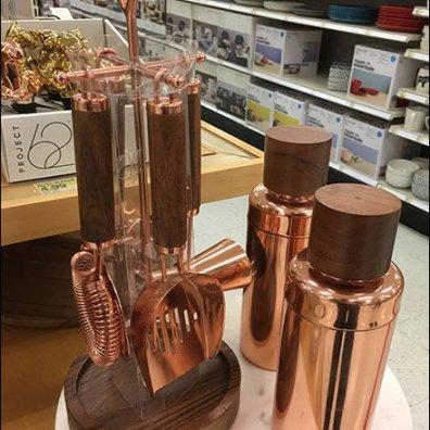 Copper Bar Accessories For New Year's Eve
