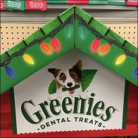 Dental Treats In The Dog House Display Feature