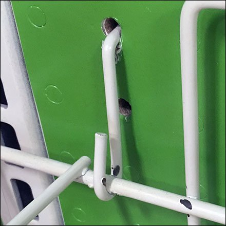 All-Wire Pin-Up Hook Pegboard Anchor Concept