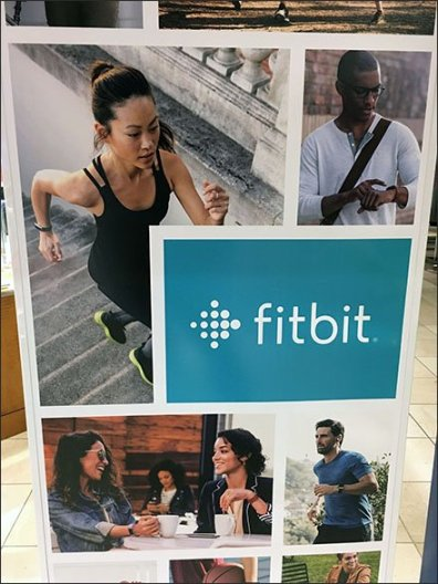 Fitbit Floorstand Sign Twins At Macy's